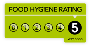 5 Star Foog Hygiene Rating